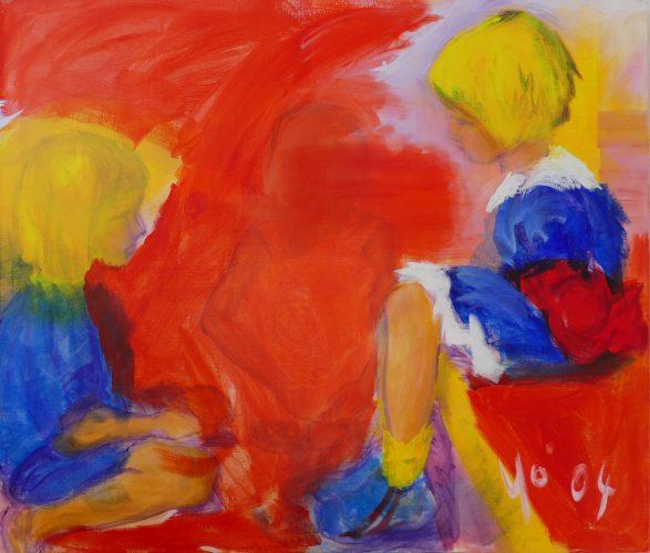 Drei Kinder 2004 Yo Ingeborg Christner